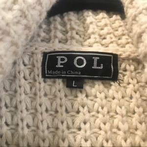 POL Sweaters - POL Chenille Chunky Sweater perfectly cozy.
